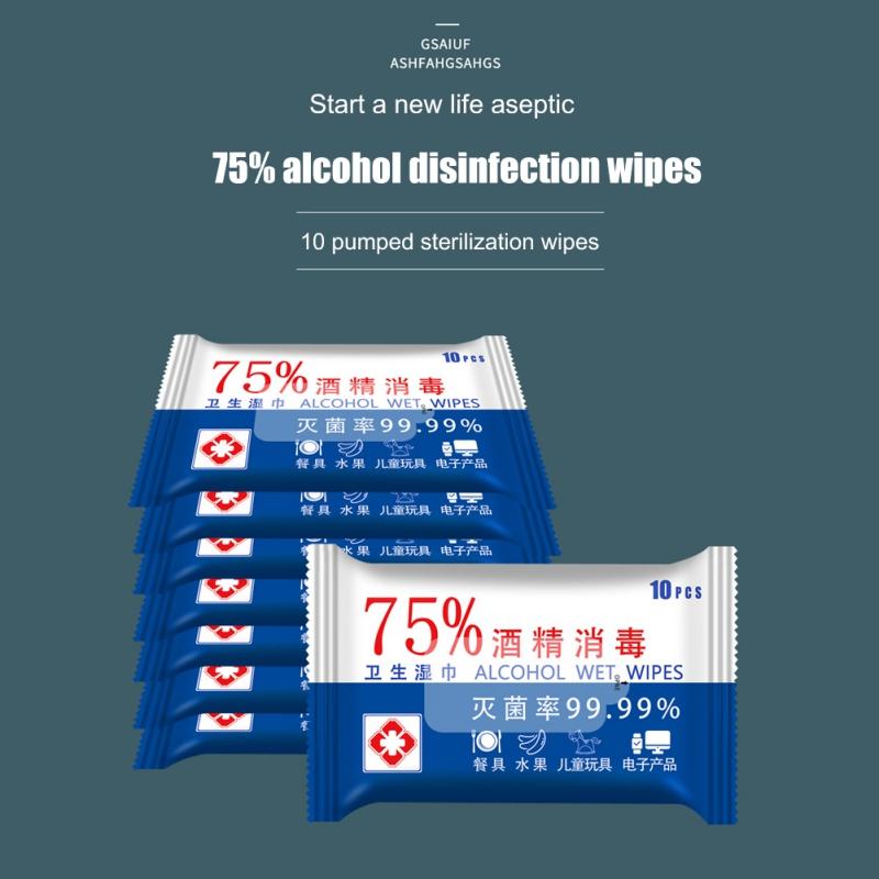 מגבונים 75% אלכוהול -  לחיטוי סביבה מקסימלי