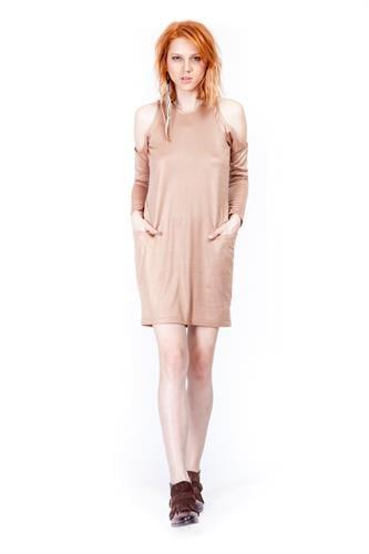 שמלת פוקסי אפרסק