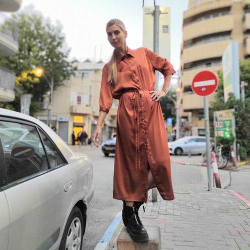 שמלת JUL - בריק