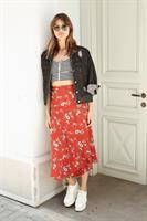 חצאית מעטפת מלאני פרח