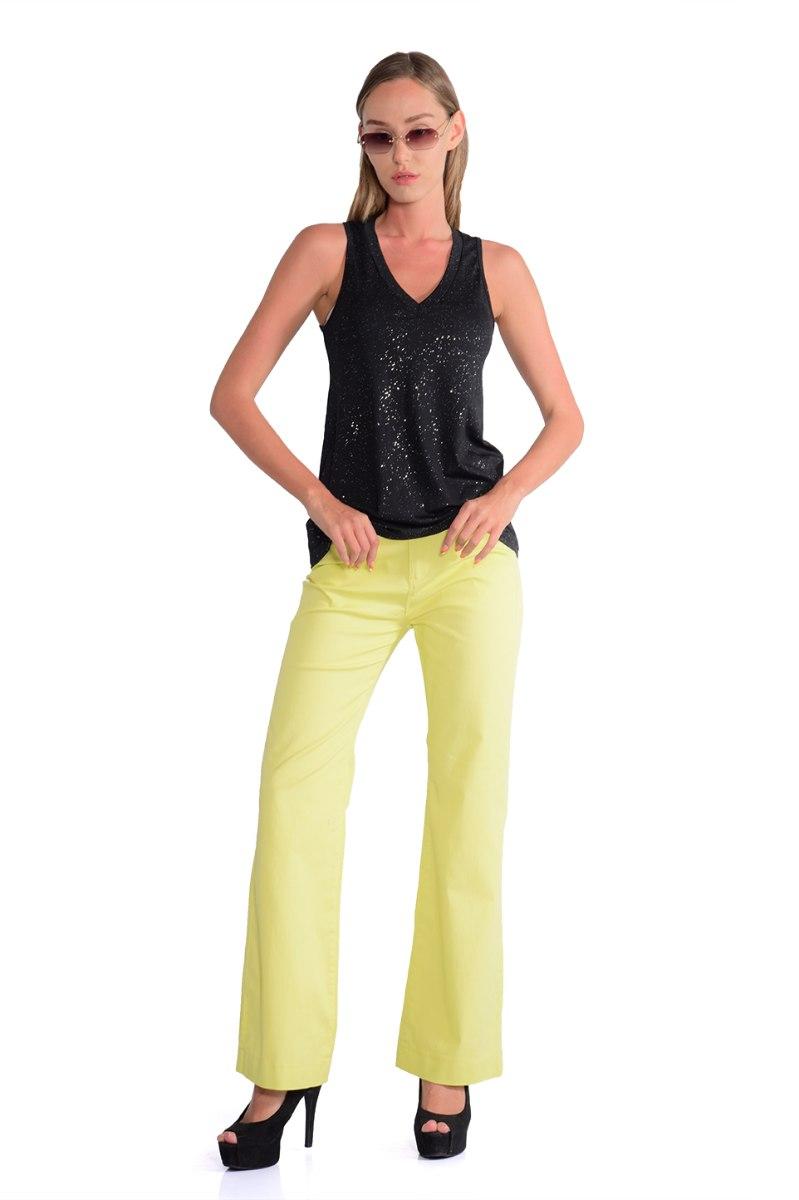 מכנס אדרי צהוב