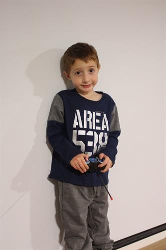 חליפה לילד לייקרה - AREA 538 - מידות 2,4,6,8