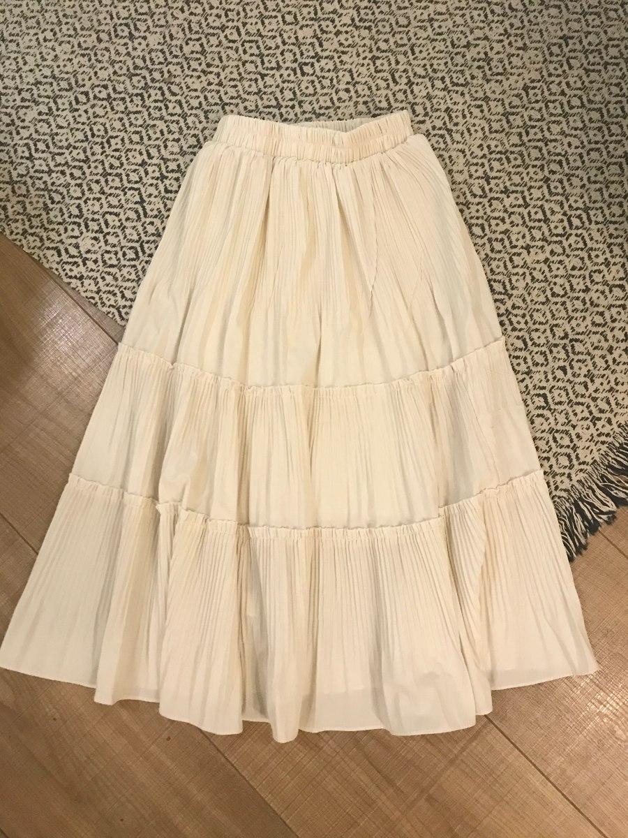 חצאית קלוש קרם