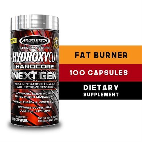 Hydroxycut Next Gen|שורף שומן הרדקור 100 כדורים
