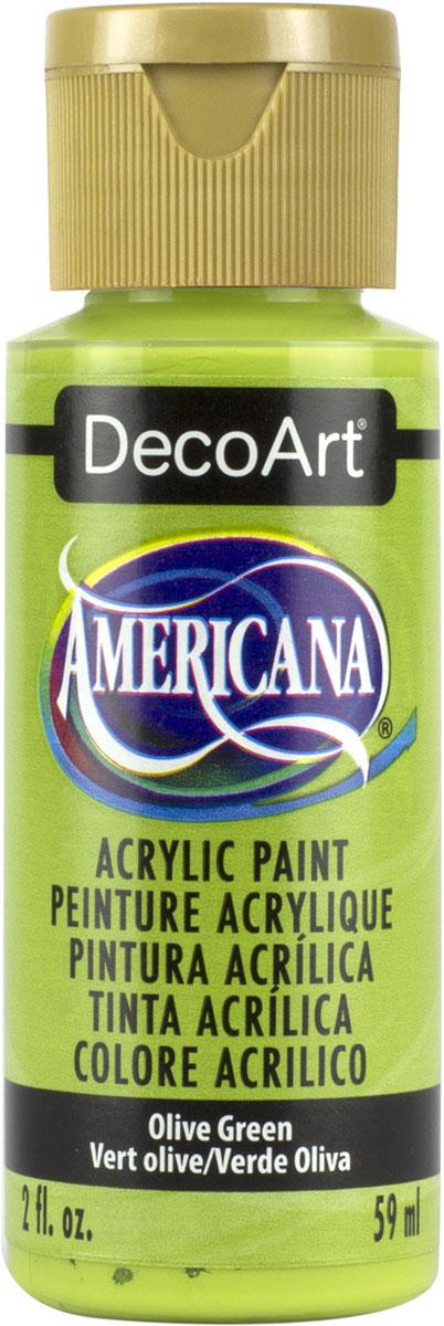"""צבע אמריקנה 59 מ""""ל Olive Green DAO56"""