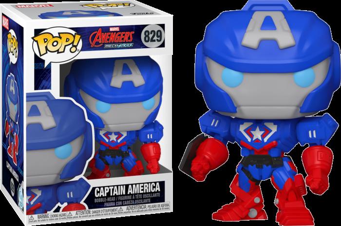 בובת פופ! Avengers Mechstrike - קפטן אמריקה