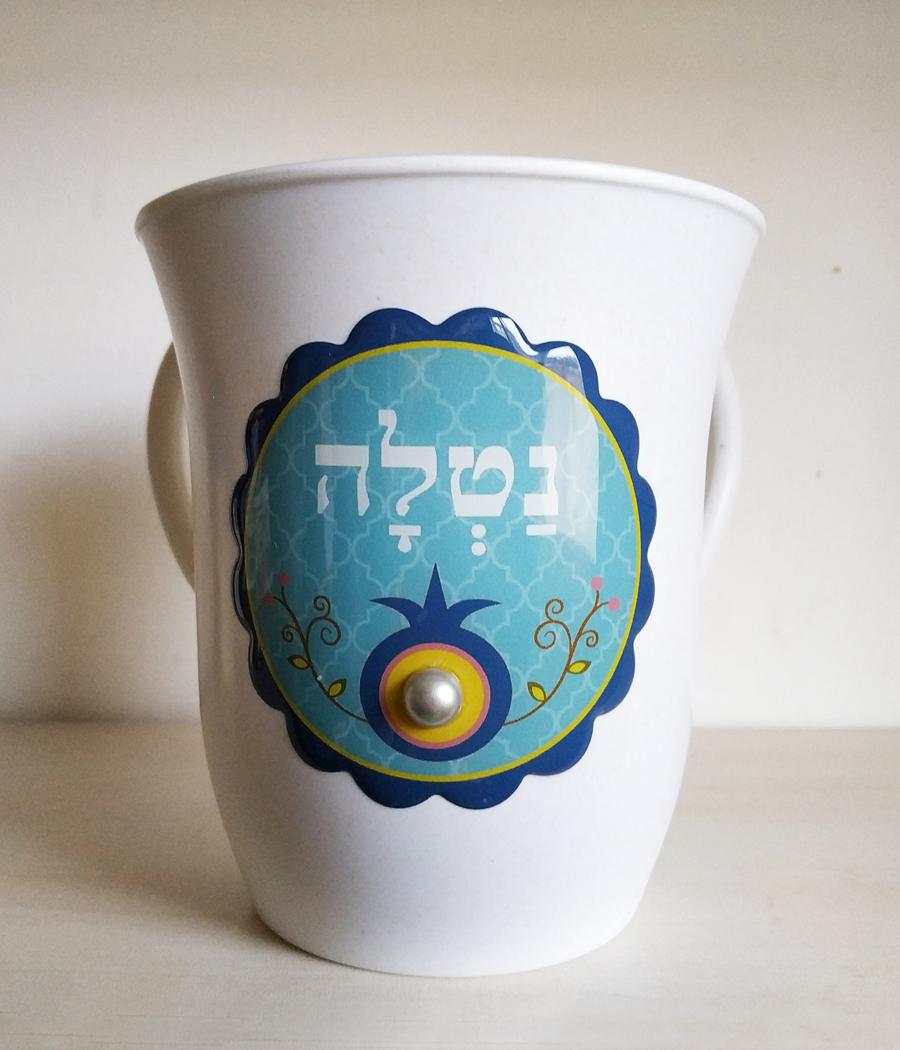 נטלה - דגם רימון כחול - דוגמא