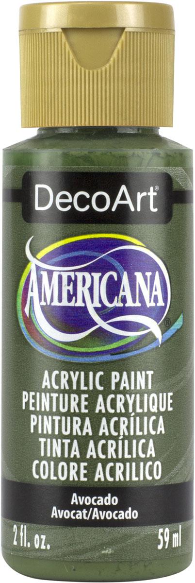 """צבע אמריקנה 59 מ""""ל Avocado DAO52"""