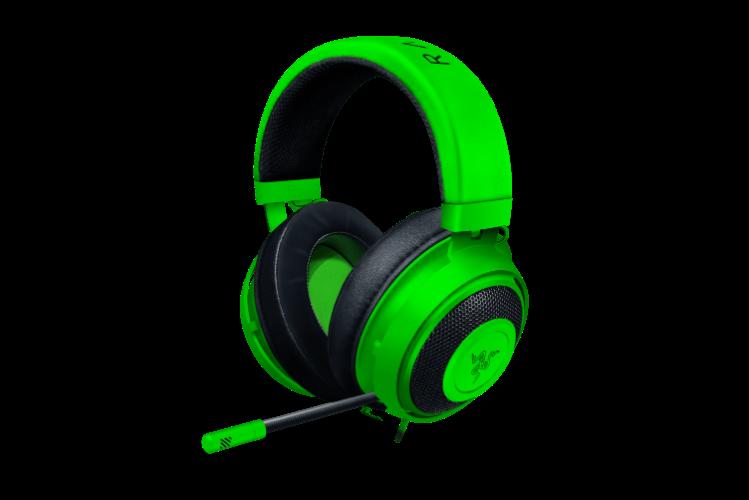 אוזניות חוטיות Razer Kraken רייזר - ירוק