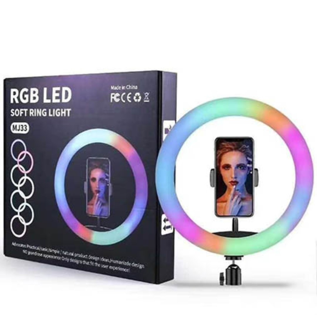 רינגלייט 21 סיימ RGB גווני קשת 24W