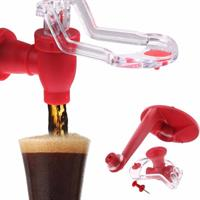 מתקן משפך לשתייה מוגזת