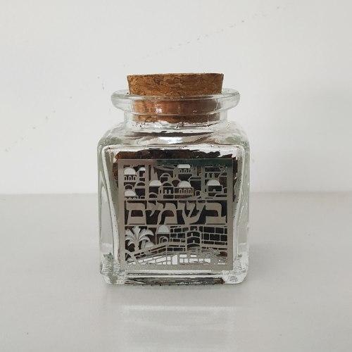 כלי לבשמים - דגם ירושלים לייזר