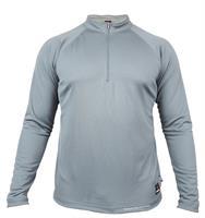 חולצת אימון קיצית טקטית ללוחם  1/4 ZIP  מדי  אימון ולחימה צבע אפור  דגם 76 Keela