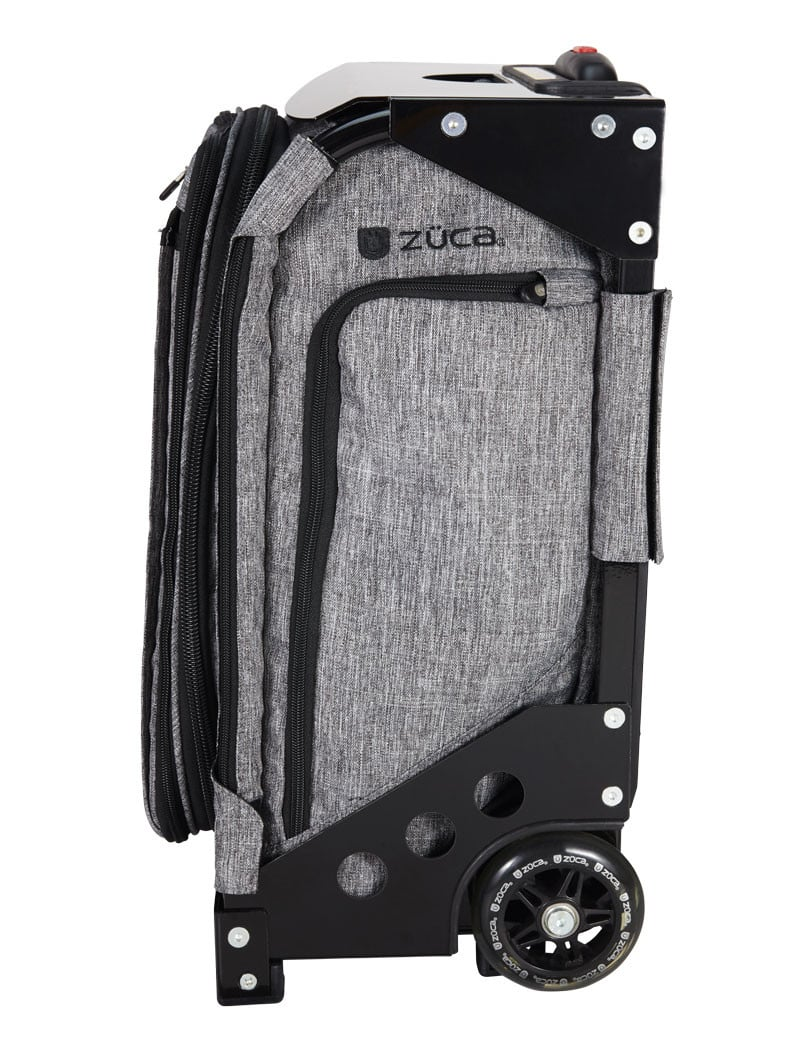 מזוודה על גלגלים 40 ליטר zuka  ללא נרתיקים נרתיקים פנימיים