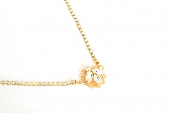 נזר לכלה פרח זהב למכירה