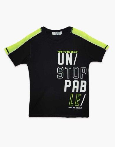 חולצת טריקו בנים  UN STOP PAB LE