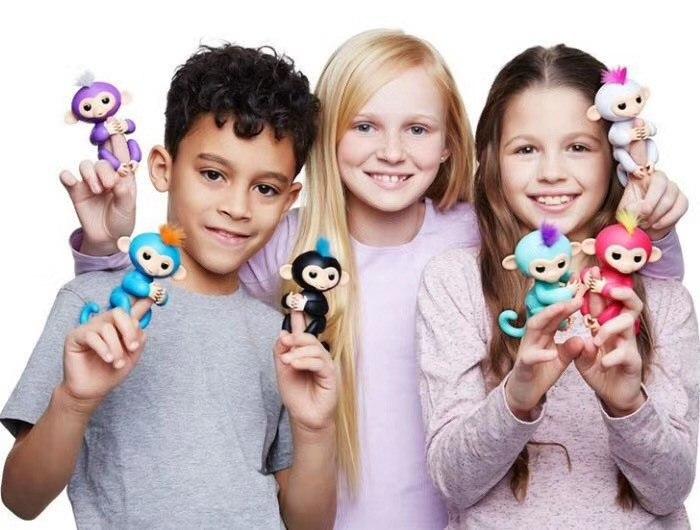 קוף אצבע - בובה דיגטלית לילדים