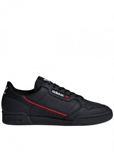 ADIDAS ORIGINALS CONTINENTAL 80 BLACK