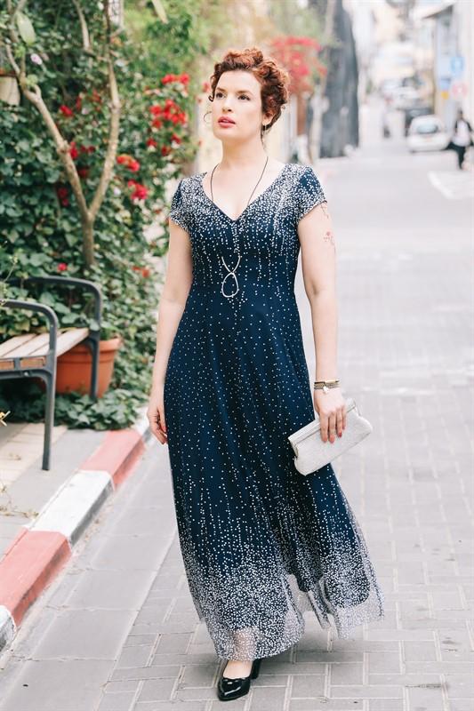 שמלה שיין מקסי