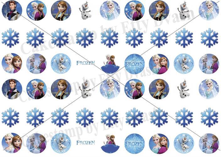 דף טרנספר - לשבור את הקרח פרוזן - Frozen