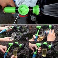 אקדח מים 8 מצבי לחץ גבוה משולב סבונית