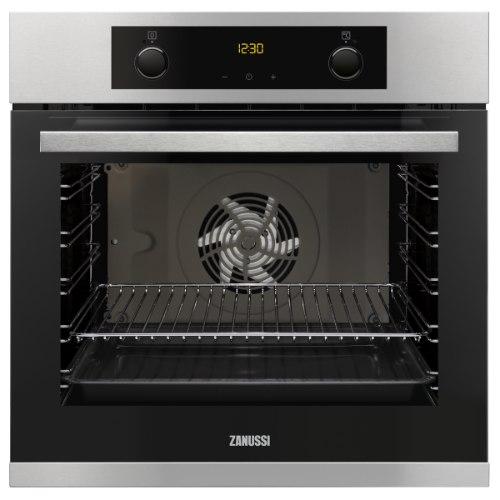 תנור אפיה בנוי 75 ליטר ניקוי הידרו קלין ZANUSSI דגם ZOB35882XU