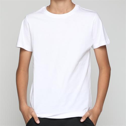חולצת ילדים ניקי חלק לבן 4-6