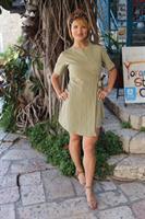 שמלת סאני ירוקה