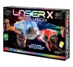 אקדח לייזר זוגי LAZER X REVOLUTION