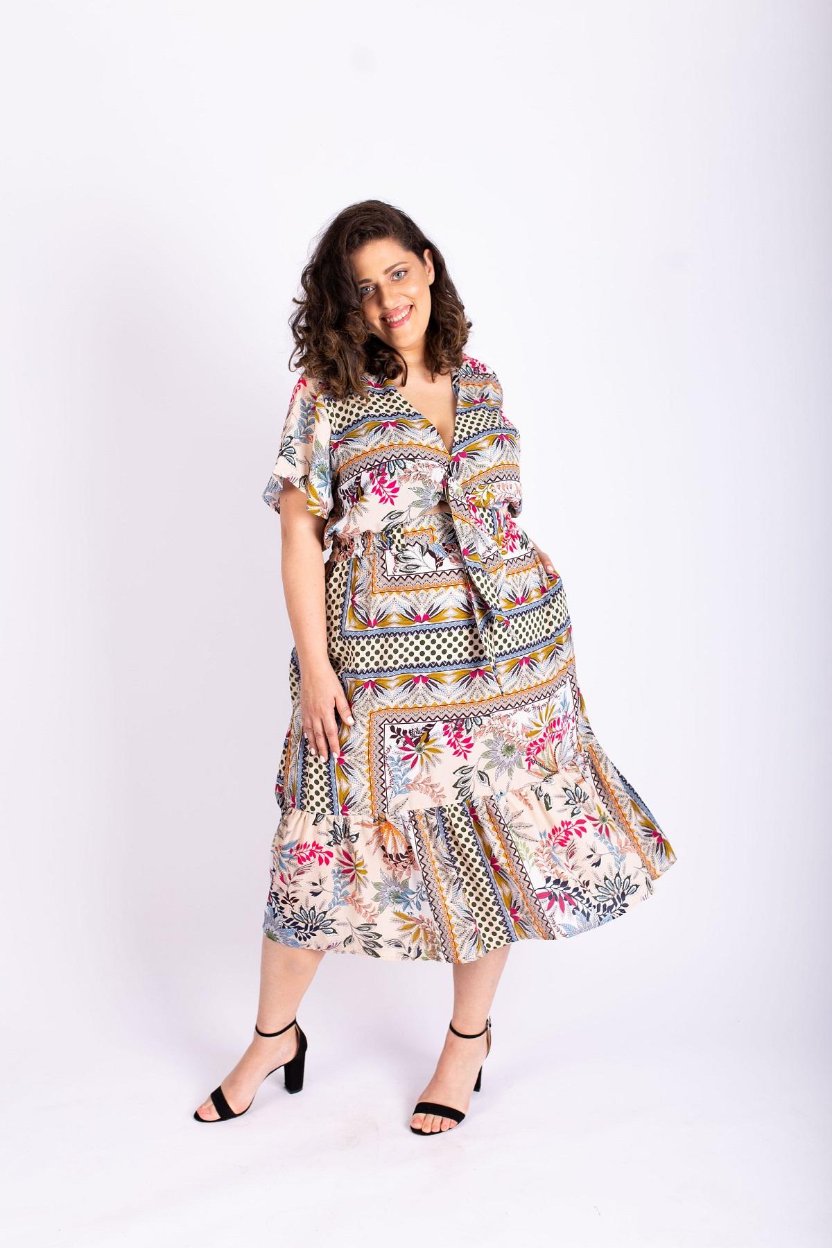 שמלת איה פרחונית