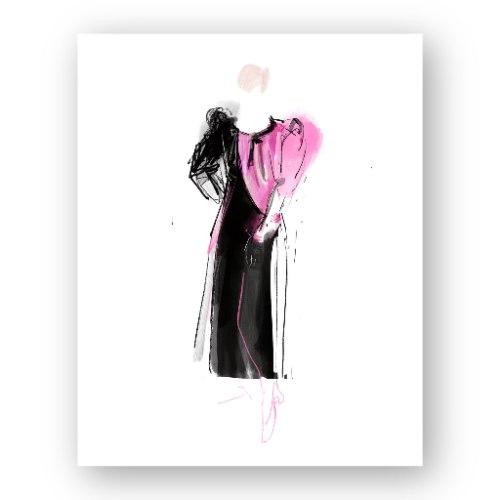 איור אופנה #1