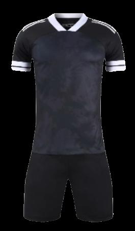 חליפת כדורגל שחור