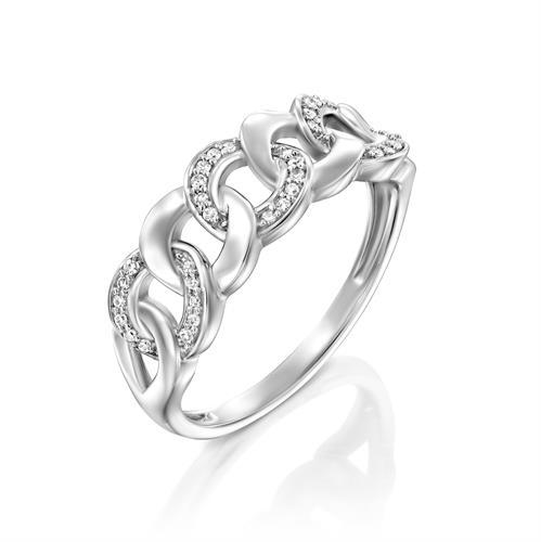 טבעת שמיניות האושר משובצת יהלומים בזהב לבן או צהוב 14 קראט