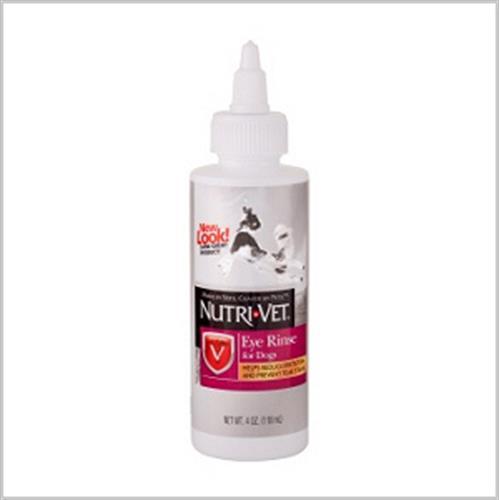 """נוזל לניקוי עיניים לכלב 118 מ""""ל (nutri vet)"""
