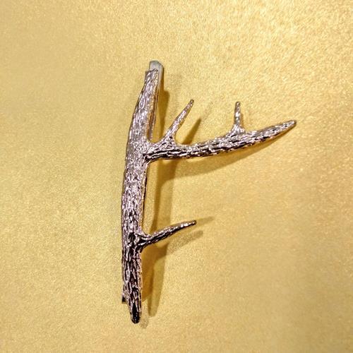סיכת ענף - מוזהבת