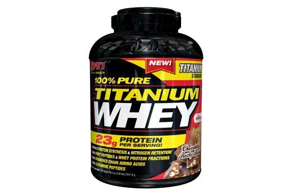 אבקת חלבון סאן טיטניום וואי San Titanium Whey