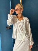 חולצת BOW - לבנה