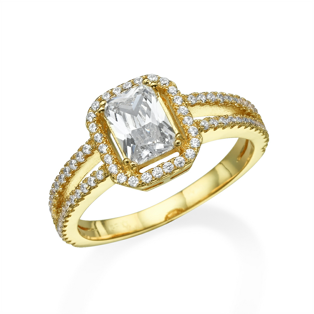 טבעת VICTORIA מכסף 925