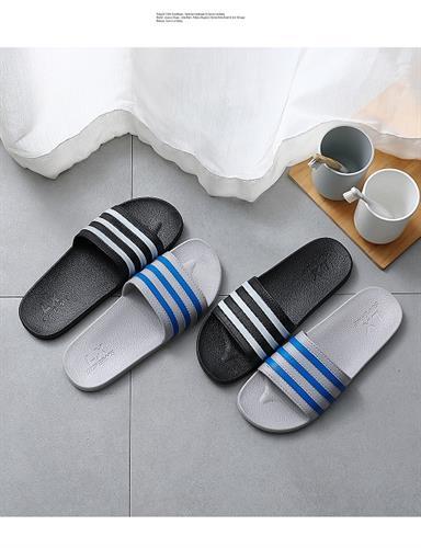 ASIFN נעלי בית- כפכפים לשימוש יומיומי בצבע לבן ושחור