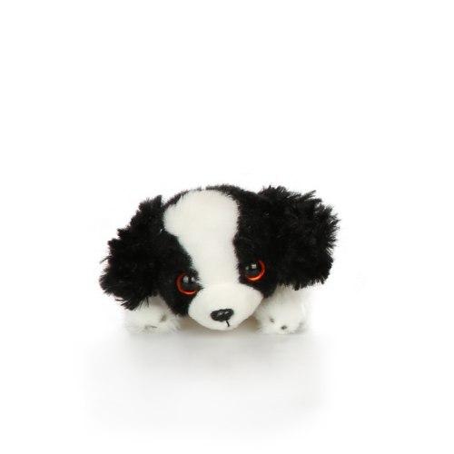 בובת הכלב שלי- קינג צ'ארלס (שחור-לבן)
