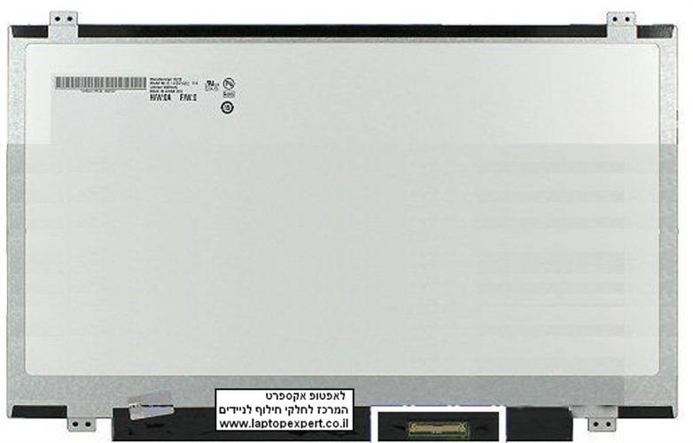 החלפת מסך למחשב נייד LG LP140WHU (TL)(B1) , LP140WHU-TLB1 Laptop Led Screen 1600X900 Matte