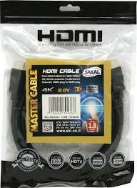 כבל HDMI ל- HDMI אורך 3 מטר 4K FULL HD 2.0V
