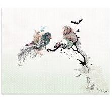ציור אבסטרקט פרחים ליז קפילוטו
