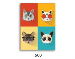 תמונת השראה מעוצבת לתינוקות, לסלון, חדר שינה, מטבח, ילדים - תמונת השראה דגם 500