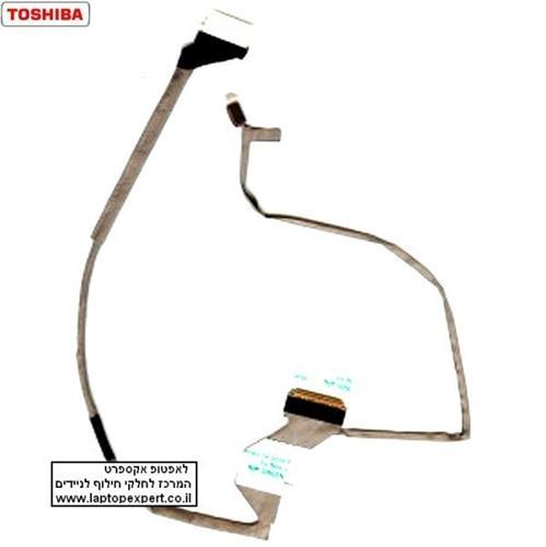 כבל מסך למחשב נייד טושיבה TOSHIBA Satellite A500 A505 DC02000UG00 LED Video Cable 16.0 Screen