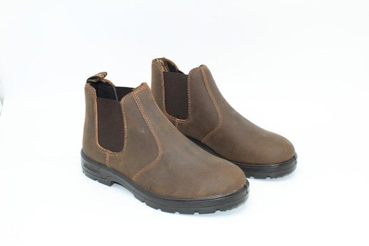 מגפיים לגבר סטון LIGHT BROWN-4