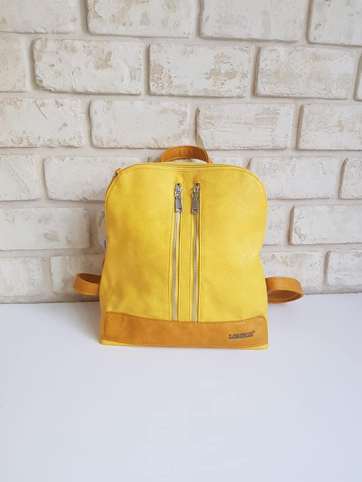 תיק גב מאיה צהוב