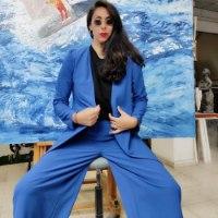 מכנסי CLASIC  - כחול רויאל