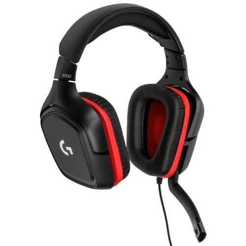 אוזניות ומיקרופון גיימינג Logitech G332