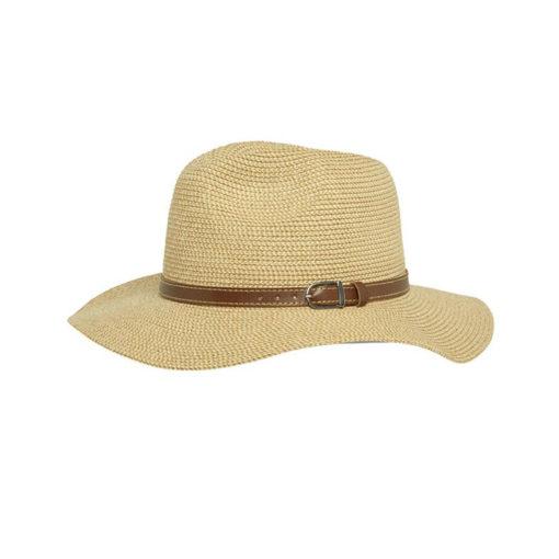 כובע אופנתי לנשים דגם חגורה